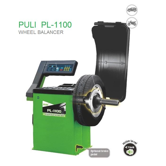 دستگاه بالانس چرخ خودروی سبک پولی PULI  PL-1100